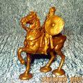 Конный Викинг (золотой)