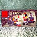 Конструктор Рыцарь 1006 (27 деталей)