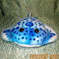 Скат электрический голубой