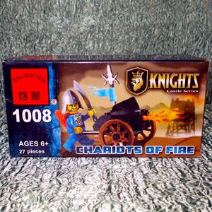 Конструктор Рыцарь 1008 (27 деталей)