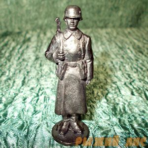 Немецкий пехотинец. Зима 1943