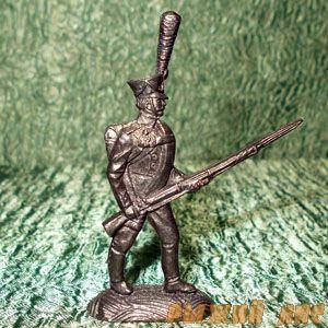 Русский гренадер в атаке 1812