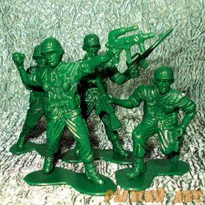 "Солдатики ""Армия воинов"""