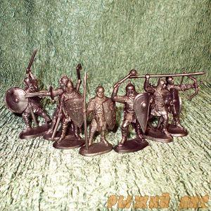 Солдатики Русичи (пехота)