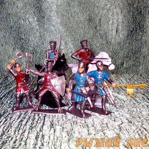 Солдатики Рыцари №1