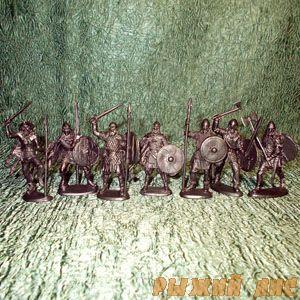 Солдатики Викинги (пехота)