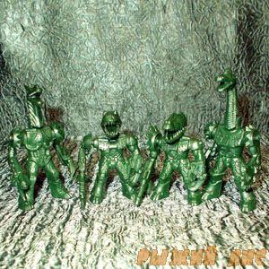 Зелёные Роботы Звери №2