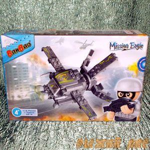 Боевой Самолёт (112 деталей)