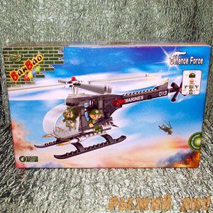 Военный Вертолёт (90 деталей)