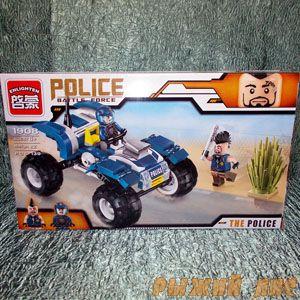 Конструктор Полиция (139 деталей)