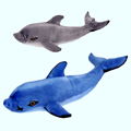 Мягкие игрушки Дельфины и Косатки