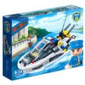 Полицейский катер (225 элементов)