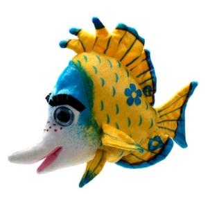 Рыба желтая 38 см