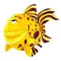Рыбка тропическая желтая 38 см