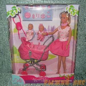 Кукла Штеффи с коляской. Вид №1.