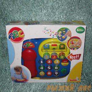 Телефон со звуковыми и световыми эффектами