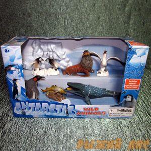 Антарктические Животные. Вид №2.