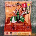 Зеленый рыцарь на коне. Вид №4.