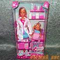 Кукла Штеффи - Детский доктор