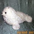 Морской Котик Белёша (лежит)