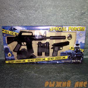 Игровой набор полицейского