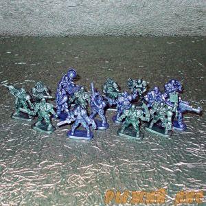 Набор солдатиков Бронепехота (16 шт.)