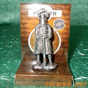 Тевтонский рыцарь с двуручником (олово)