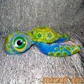 Большеглазая Черепаха (голубая)