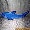 Дельфин Афалина большой (синий)
