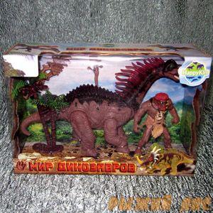 Монстр + Динозавр. Вид №3.
