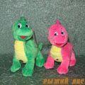 Динозаврик Розовый(муз.)