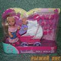 Кукла Еви с малышом на прогулке