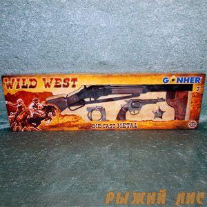 Ковбойский набор с винтовкой