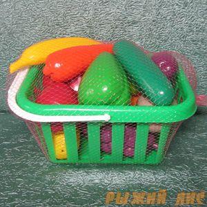 """Набор """"Фрукты и овощи"""" в корзине"""