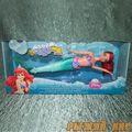 Плавающая кукла русалочка Ариэль