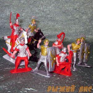 Солдатики Римляне. Вид №1.
