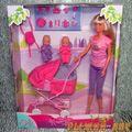 Кукла Штеффи с коляской. Вид №2.