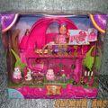 Сказочный замок для куклы Еви