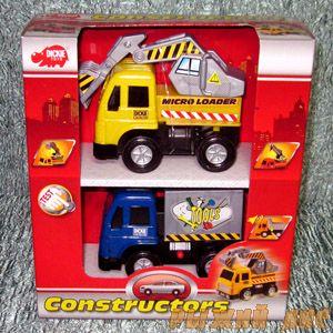 Набор строительной техники из двух машинок. №2