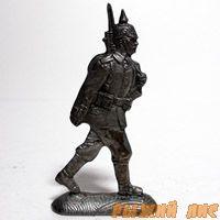 Германский солдат на марше ПМВ