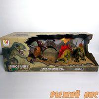 Набор динозавров в коробке