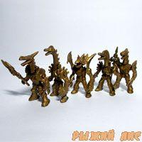 Роботы Звери №2 (золотые 5 штук)