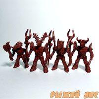 Роботы Звери №3 (красные 4 штуки)
