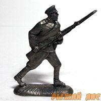 Русский солдат в бою ПМВ