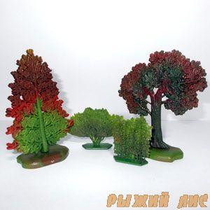 Деревья и кусты №1