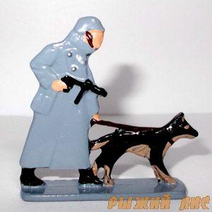 Фельджандарм с собакой