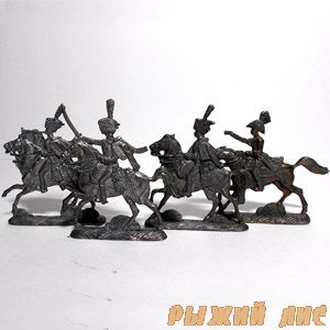 Французская конница 1812 (4 фигуры)
