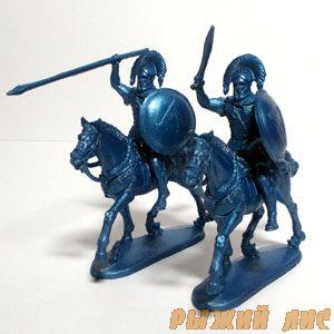 Греки всадники (синие)