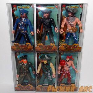 Комплект фигурок Пиратов (6 шт.)