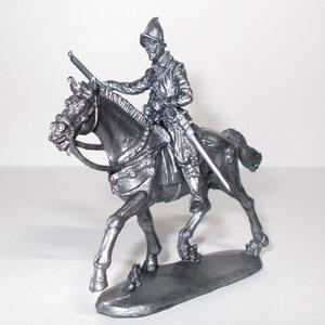 Конкистадор с мушкетом